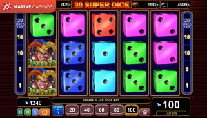 20 Super Dice game preview