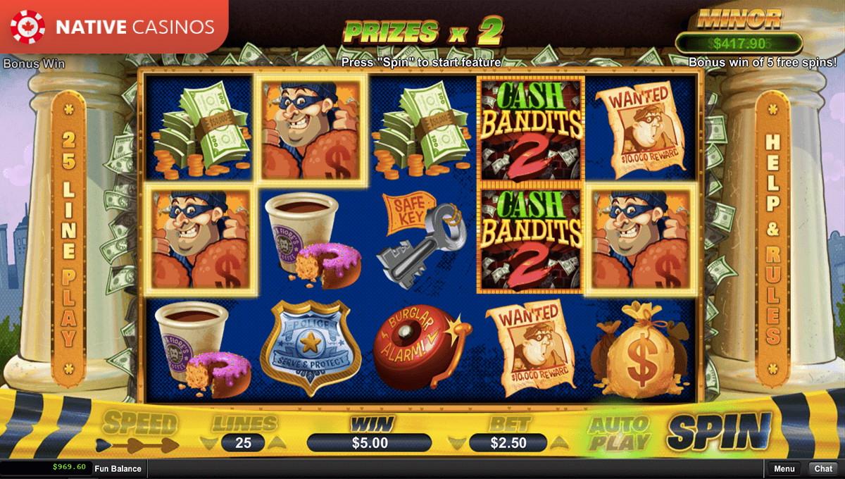 Play Cash Bandits 2 By RTG