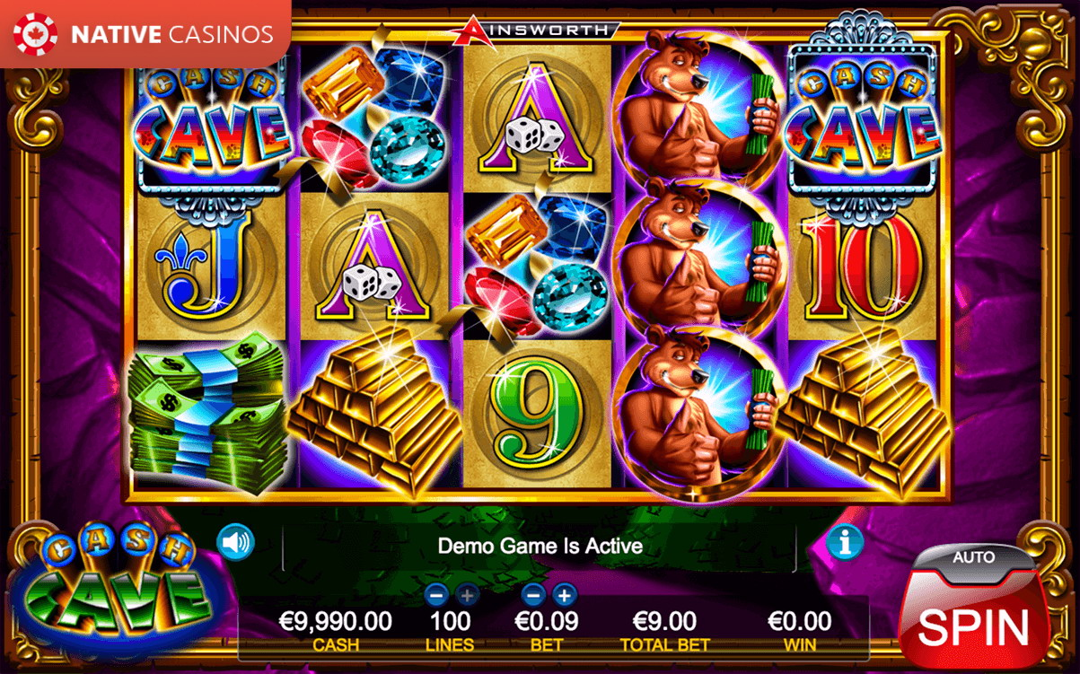 ➣ Cash Cave Slot by Ainsworth For Free on NativeCasinos