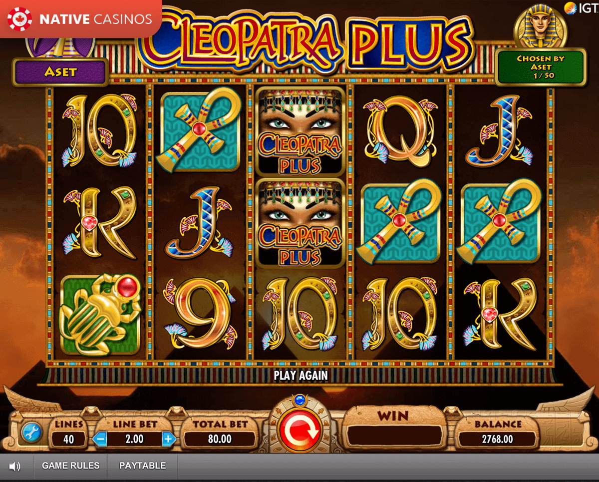 Cleopatra Plus game preview
