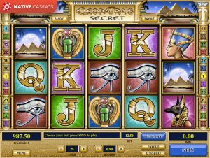 Cleopatra's Secret game preview