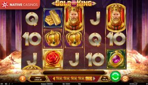 Gold King By About Play'n Go