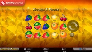 Golden 7 Fruits game preview