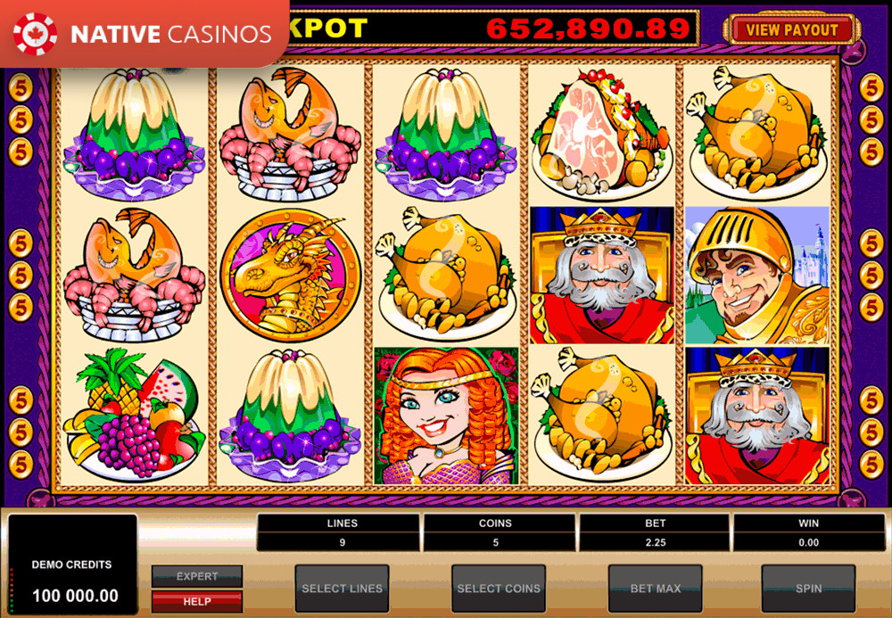 Play King Cashalot by Microgaming