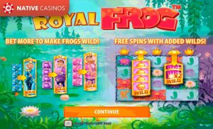Royal Frog game preview