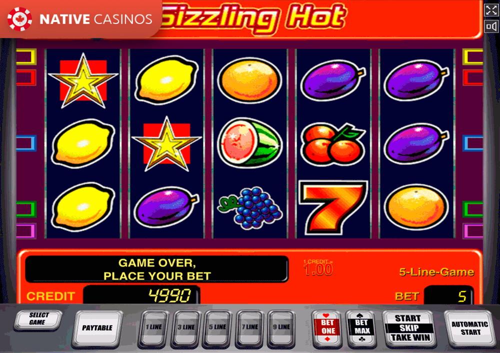 Sizzling Hot Spielgeld Casino