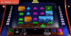 Space Invaders game preview