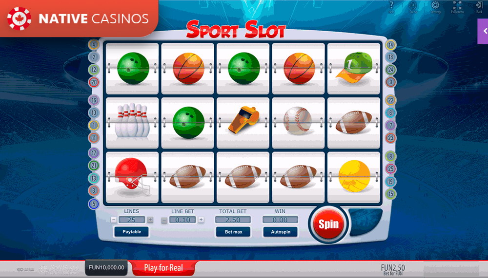 Play Sport Slot By SoftSwiss