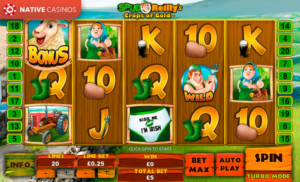 Playtech Releases Spud O Reilly slot machine