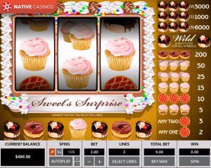 Sweet Surprise 3 Reels game preview