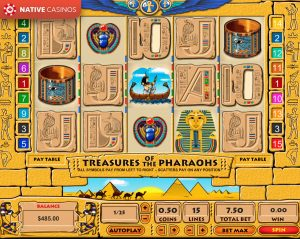 Treasure of the Pharaohs game preview