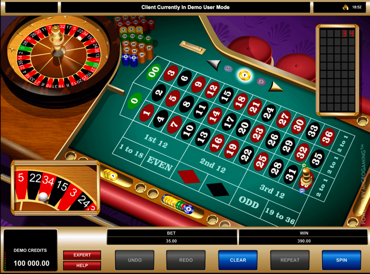 Play American Roulette By Microgaming