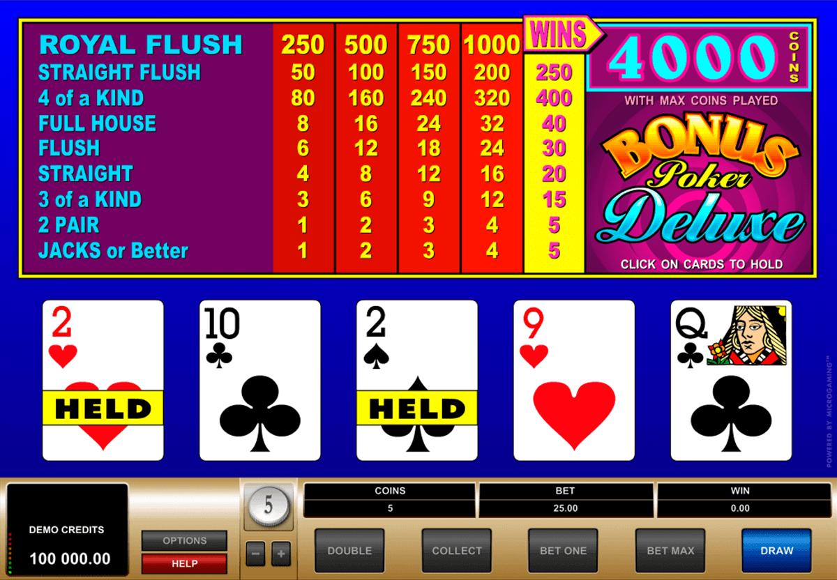 Poker Deluxe Vip