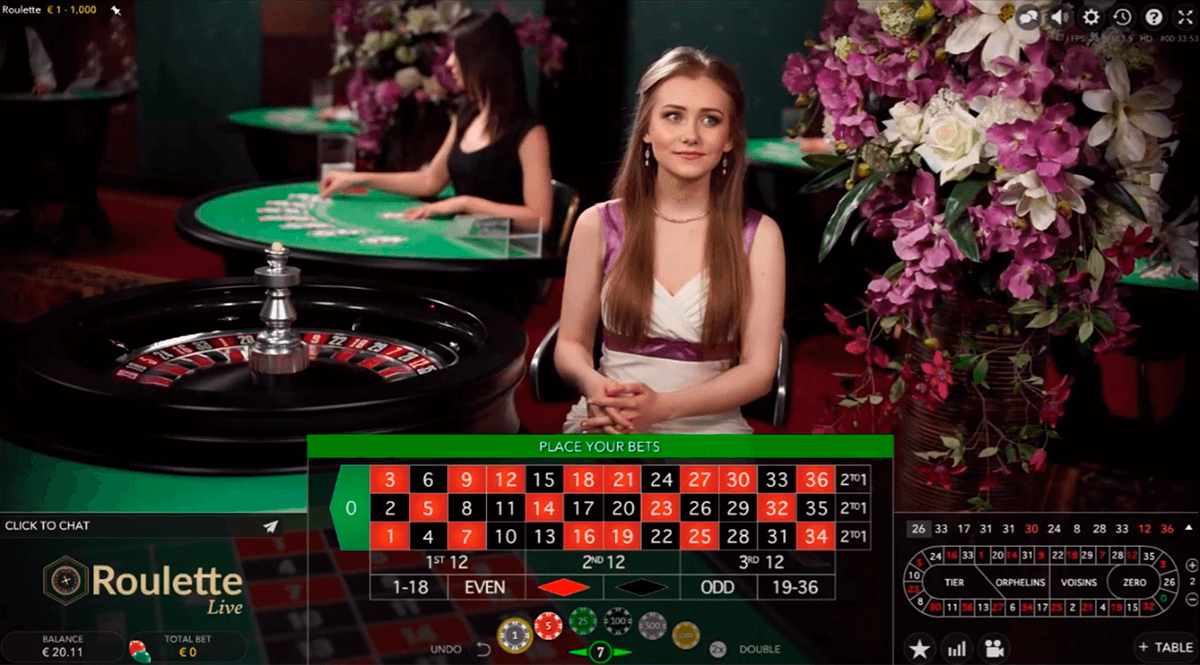 Play European Roulette By Evolution Gaming