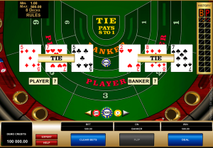 High Limit Baccarat - Play Baccarat