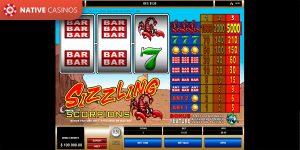 Sizzling Scorpions by Microgaming
